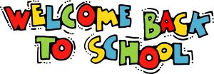 Welcome back to school clipart 2 1