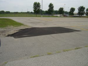 Concrete and asphalt repairs across the District