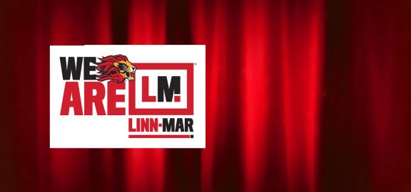 Lion logo with We Are Linn-Mar