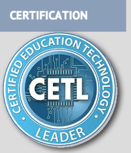 Certified Edcuation Technology Leader logo