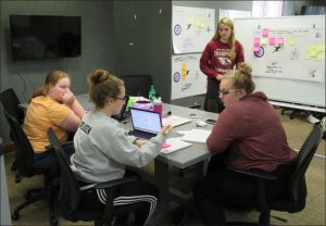 iowa big students discuss their projects