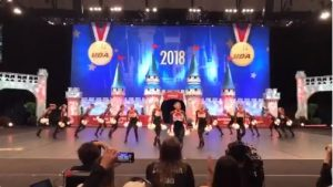 Linn-Mar Poms perform at National Competition
