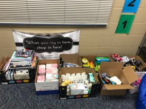 Donations to cancer center