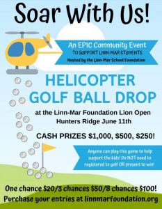 Helicopter Golf Ball Drop 2019
