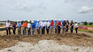 Hazel Point Groundbreaking ceremony