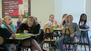 Excelsior students in class (9)