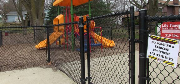 Bowman Woods playground closed