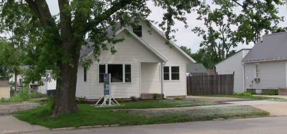 Curb view Student Renovated House